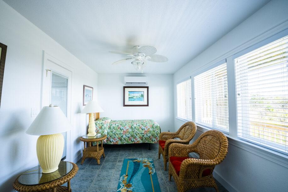 Teachs Treasure sunroom bedroom