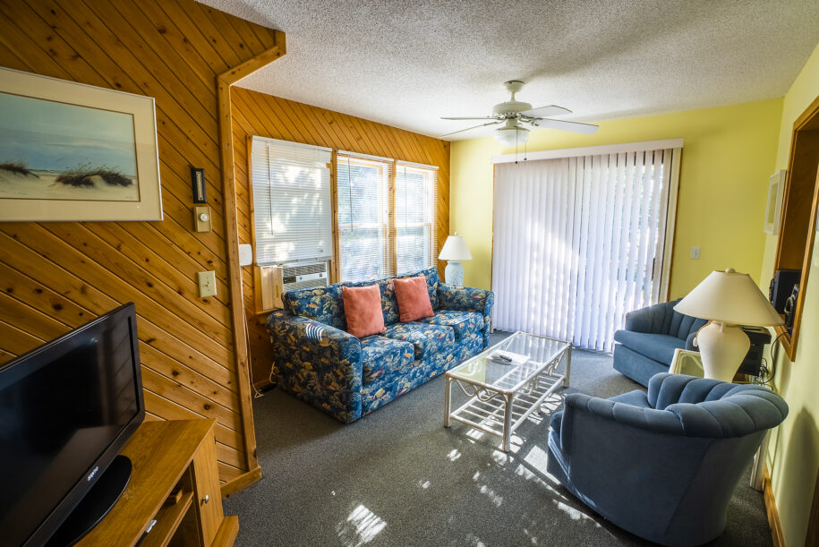 Treehouse living room