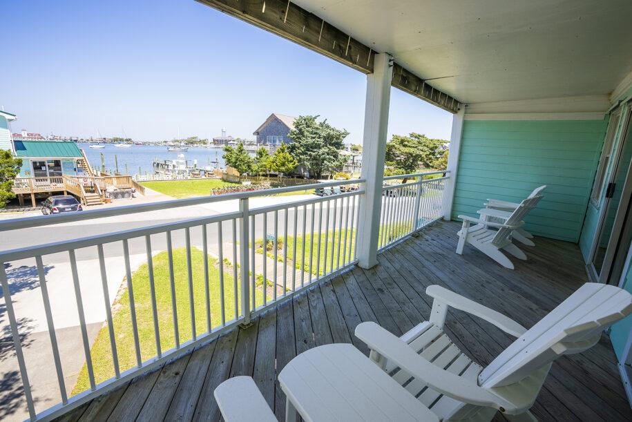 suite 208 long view of porch